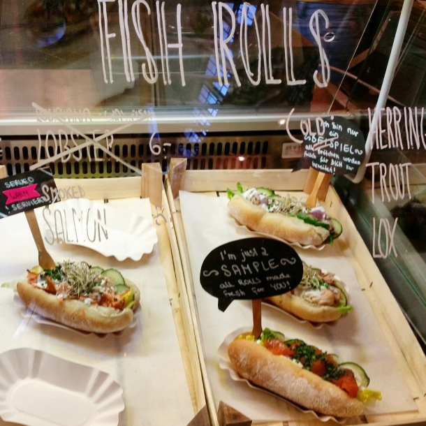 11 Fish Rolls at Markthalle Neun