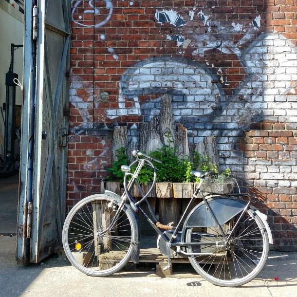 5 Bike near Badeschiff in Berlin