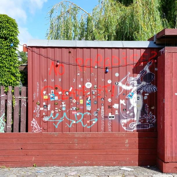 6 Grafitti near Badeschiff Berlin