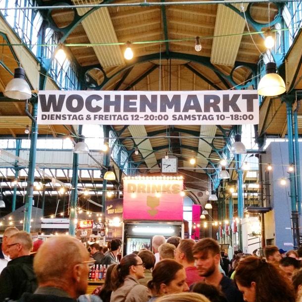 8 Markthale Neun Wohchenmarkt