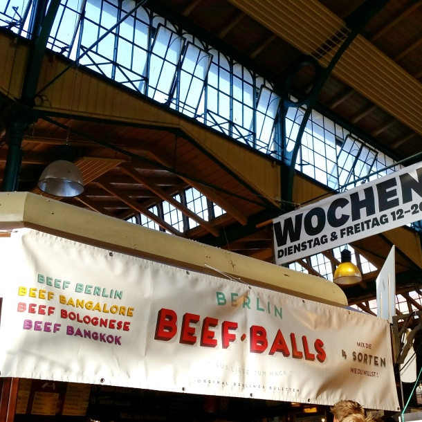 9 Berlin Beef Balls at Markthalle Neun