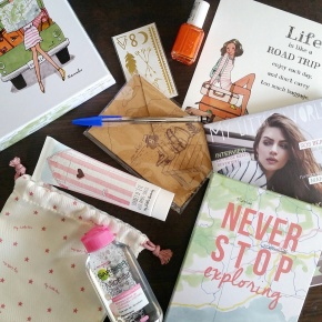 Juillet: My Little Road Trip Box