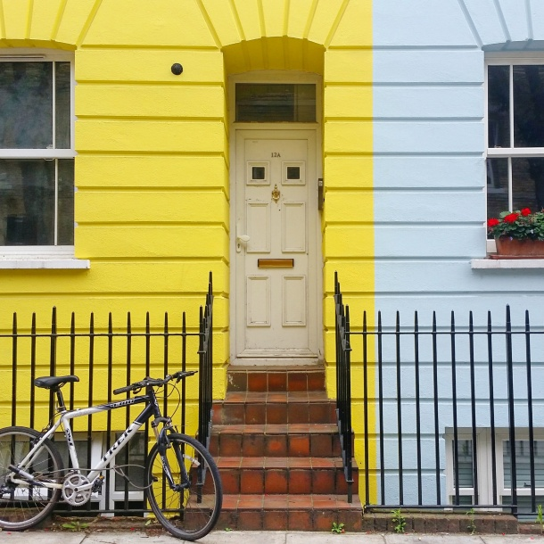 3. Camden Town - House fronts