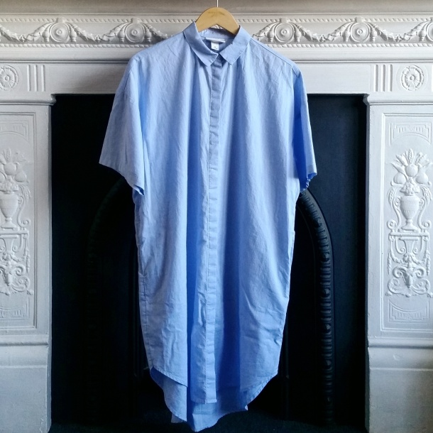 callmekatie - monki chambray shirt dress first picture