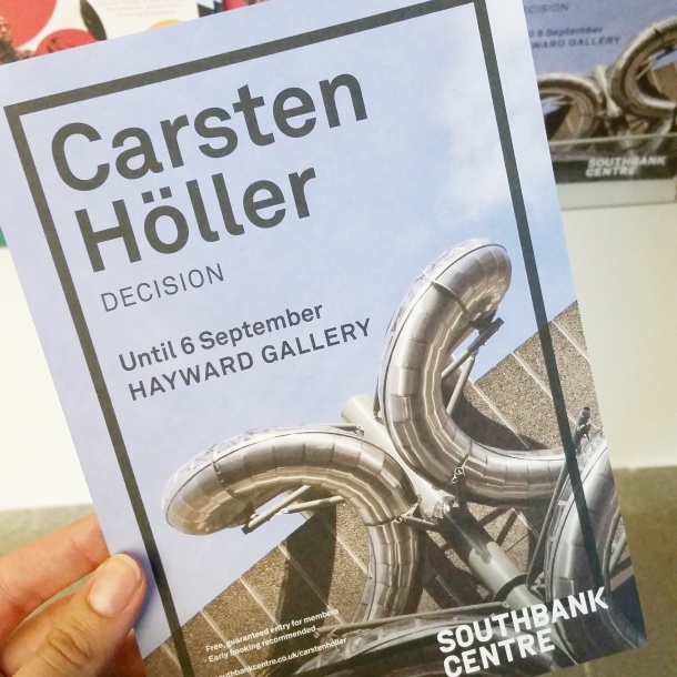 Carsten Holler's Decision at Hayward Gallery 15