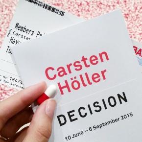 Carsten Höller's Decision at HaywardGallery