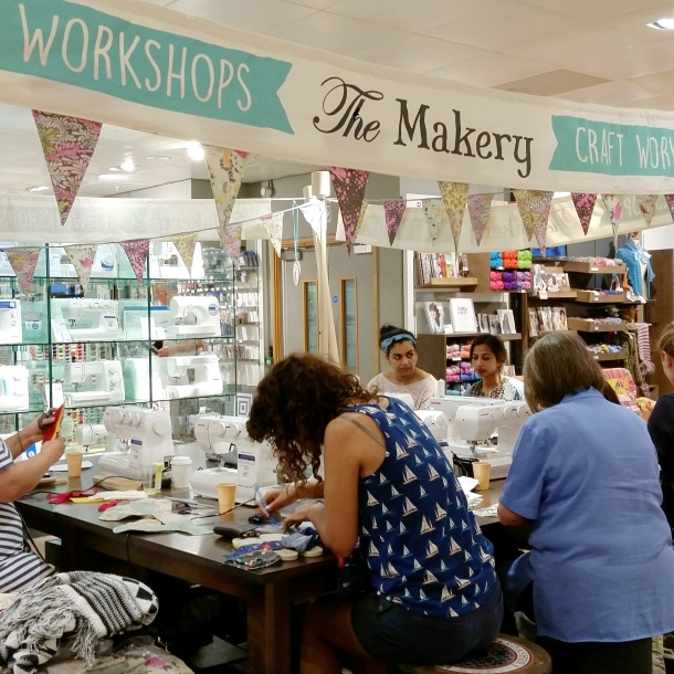 Make your own espadrilles workshop with The Makery at John Lewis 1