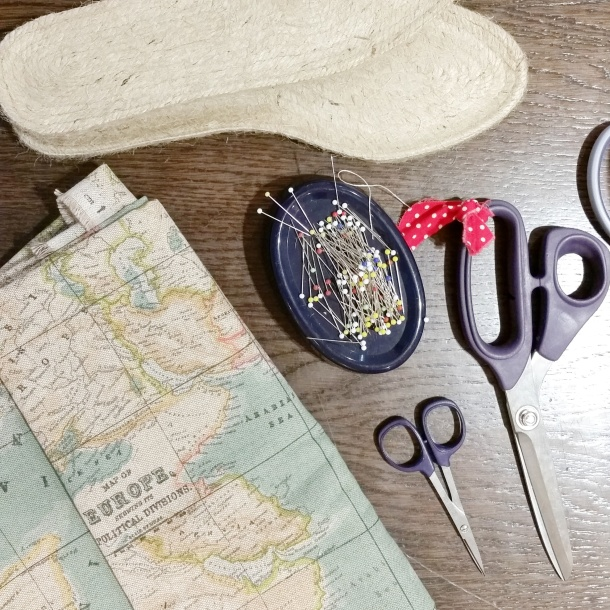 Make your own espadrilles workshop with The Makery at John Lewis 2