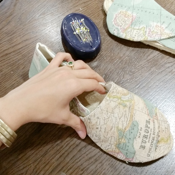 Make your own espadrilles workshop with The Makery at John Lewis 7