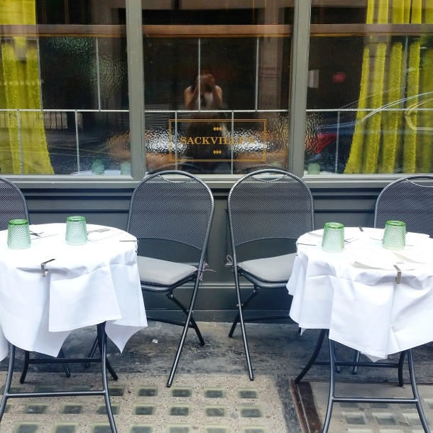 Review - lunch at Sackvilles Mayfair 1
