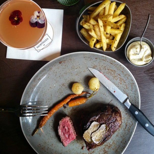 Review - lunch at Sackvilles Mayfair 13