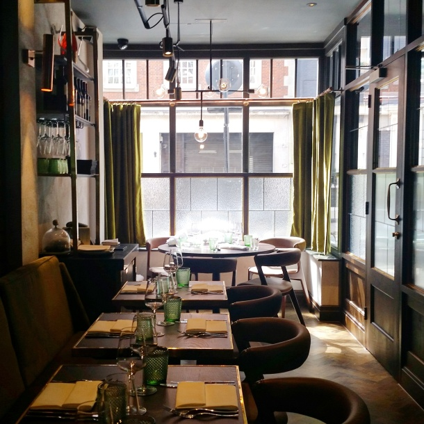 Review - lunch at Sackvilles Mayfair 3