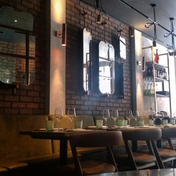 Review - lunch at Sackvilles Mayfair 4