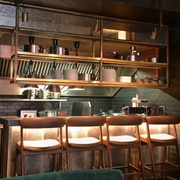 Review - lunch at Sackvilles Mayfair 5