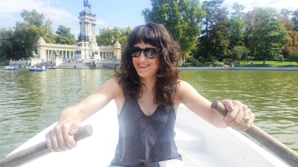 10 my turn to row at Parque del Retiro