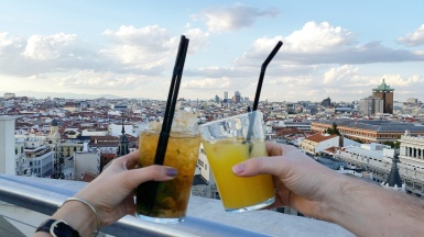 12 Cocktails at the Círculo de Bellas Artes