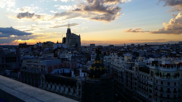 17 Sunset at Círculo de Bellas Artes