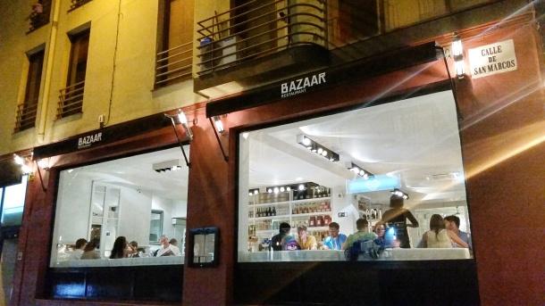 18 Dinner at Bazaar