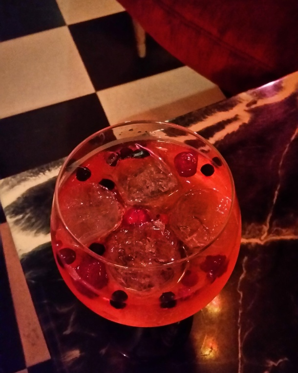 20 Gin and tonic with red fruits at Picnic Bar