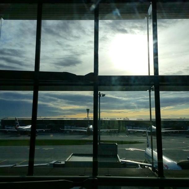 4 Early morning flight from Heathrow