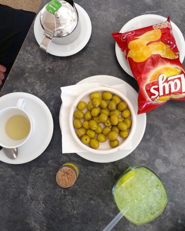 8 Snacks at Parque del Retiro