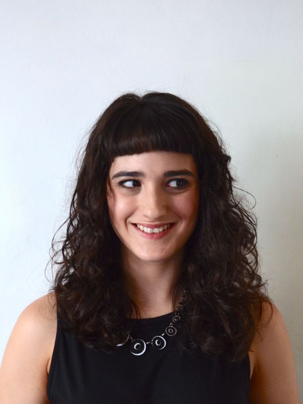 Call Me Katie - Just My Look - L'Oreal Professional Volumetry Shampoo, Volumetry Conditioner, Curl Contour Styling - finished look 2