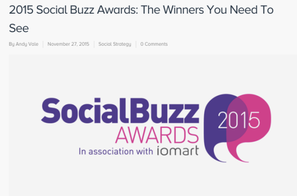 Call Me Katie - Katie Poole Social Media Manager at TMW Unlimited, Best FMCG Social Strategy Campaign 2015 Magnum UK, article by SocialBro