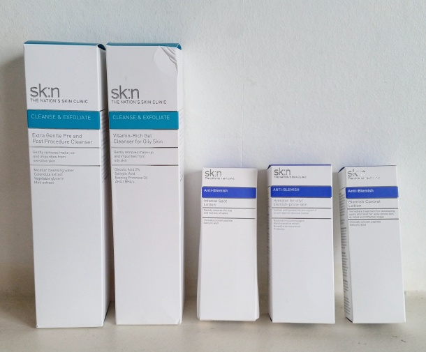 Call Me Katie - SKIN The Nation's Skin Clinic products for oily skin and spot prone skin review - 1