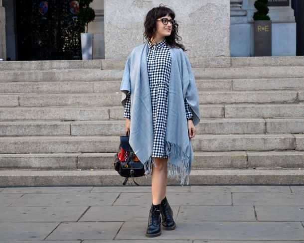 Monki Aoi Dress in Black and White with Dr Martens- Call Me Katie - 06