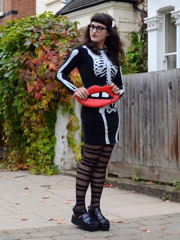 Call Me Katie - 2 non-costume Halloween looks - 03