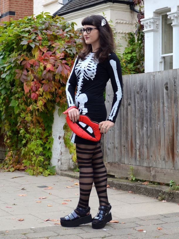 Call Me Katie - 2 non-costume Halloween looks - 05