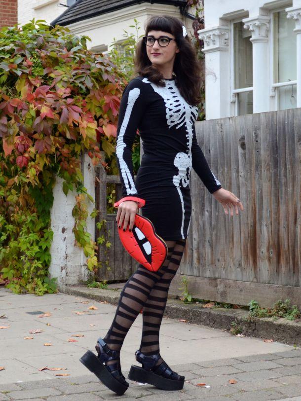 Call Me Katie - 2 non-costume Halloween looks - 06