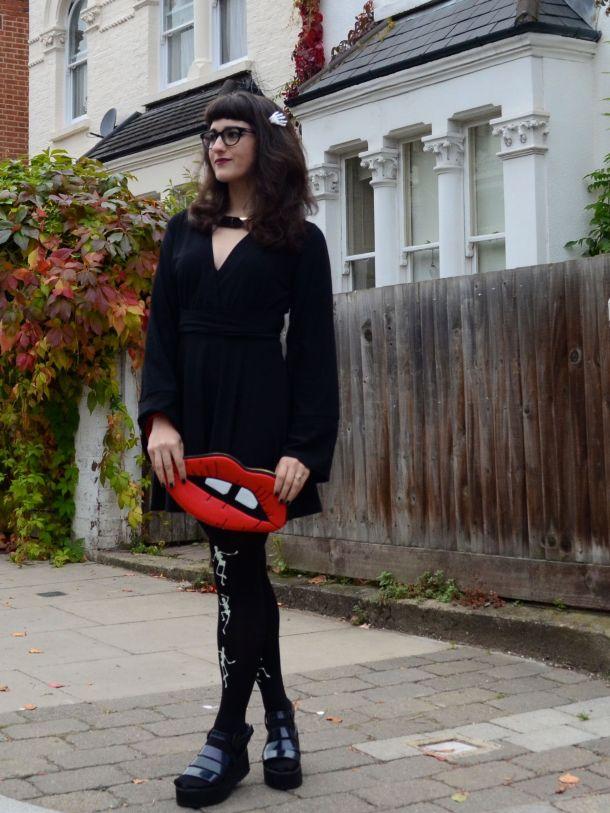 Call Me Katie - 2 non-costume Halloween looks - 13