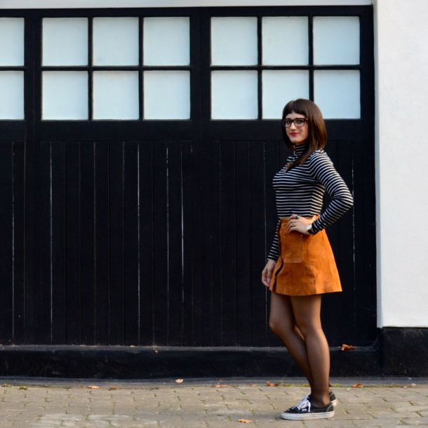 Call Me Katie - AW15 Trends - ASOS Tan Suede Skirt, Weekend Style - 01