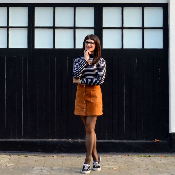 Call Me Katie - AW15 Trends - ASOS Tan Suede Skirt, Weekend Style - 02