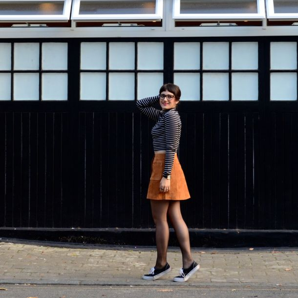 Call Me Katie - AW15 Trends - ASOS Tan Suede Skirt, Weekend Style - 04