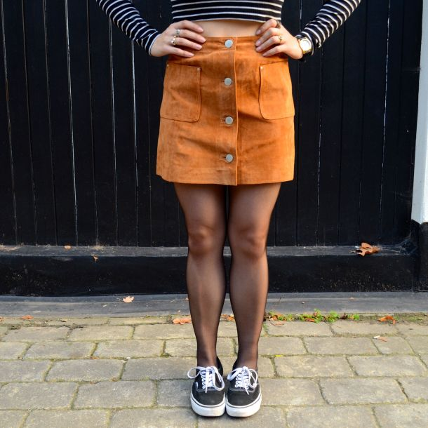 Call Me Katie - AW15 Trends - ASOS Tan Suede Skirt, Weekend Style - 10