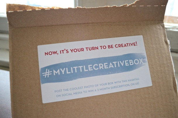Call Me Katie - My Little Box Review - October 2015 My Little Creative Box - 02