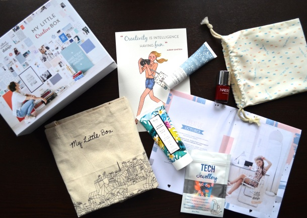 Call Me Katie - My Little Box Review - October 2015 My Little Creative Box - 10