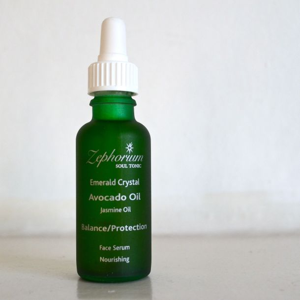 Call Me Katie - Zephorium Soul Tonic - Emerad Crystal - Avocado Oil, Jasmin Oil - Balance & Protection - Face Serum