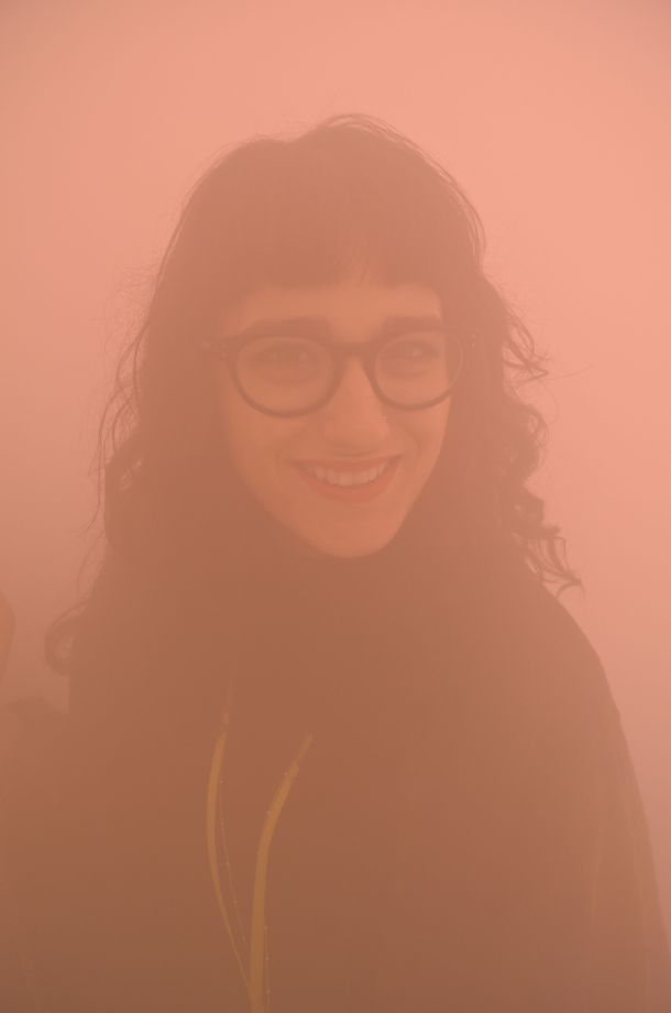 Call Me Katie - Ann Veronica Janssens' yellowbluepink at Wellcome Collection - 07