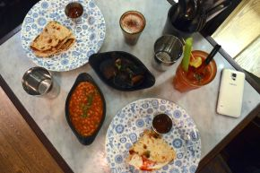 Breakfast at Dishoom