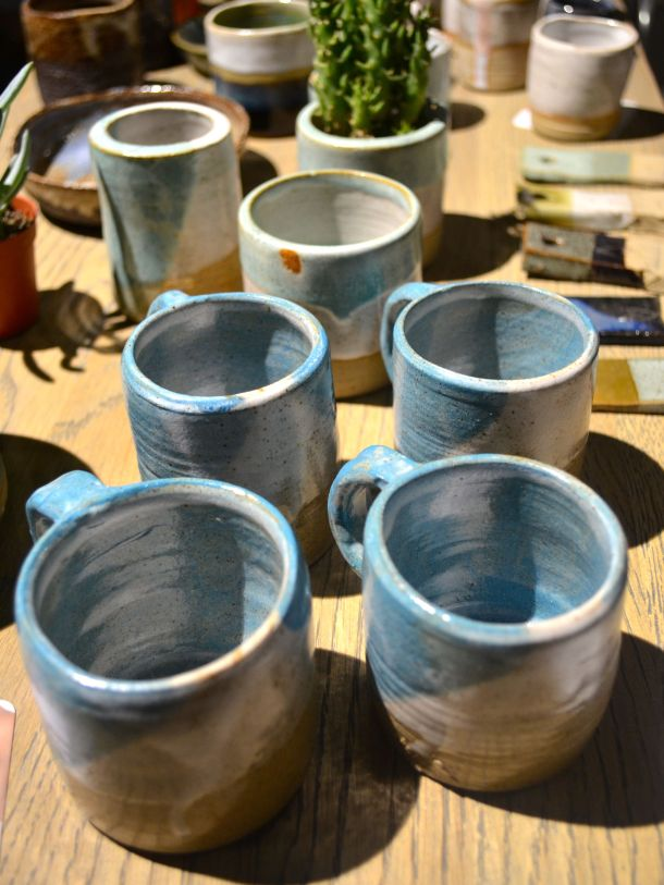 Call Me Katie - Christmas Makers Market at East Village E20 - Blue Guy Pottery - 17