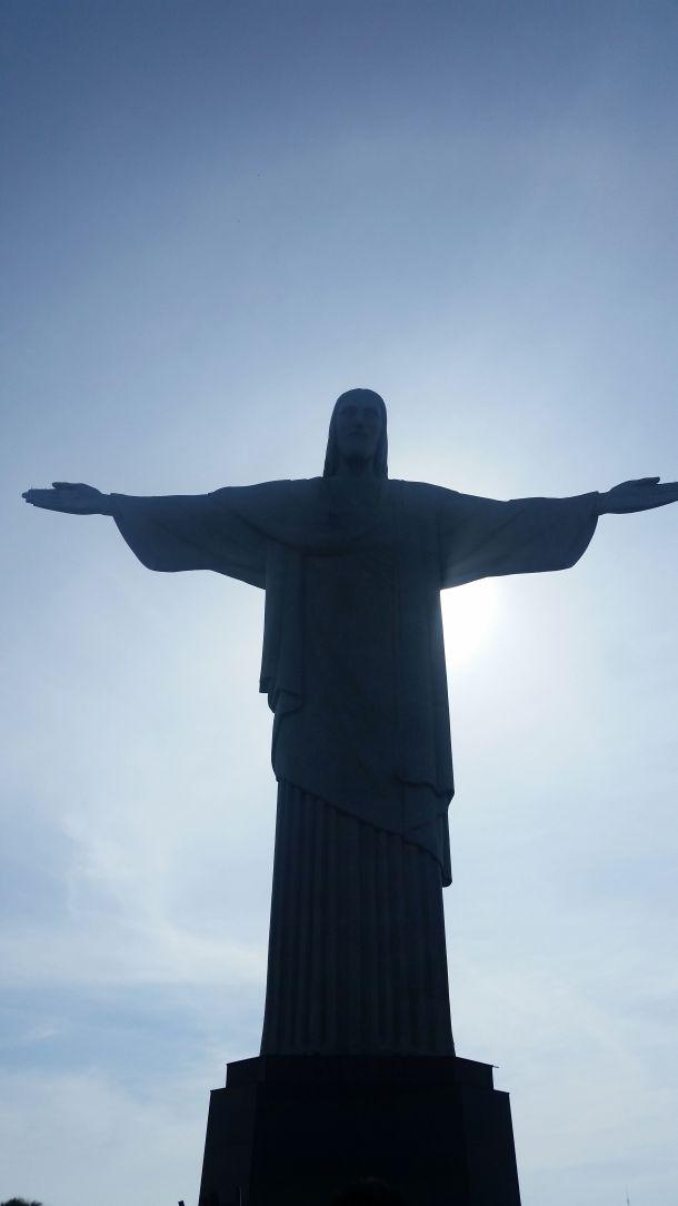Call Me Katie - Cristo Redentor, Christ the Redeemer in Rio de Janeiro - 01