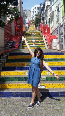 Call Me Katie - Escadaria Selarón in Lapa, Rio de Janeiro - 01
