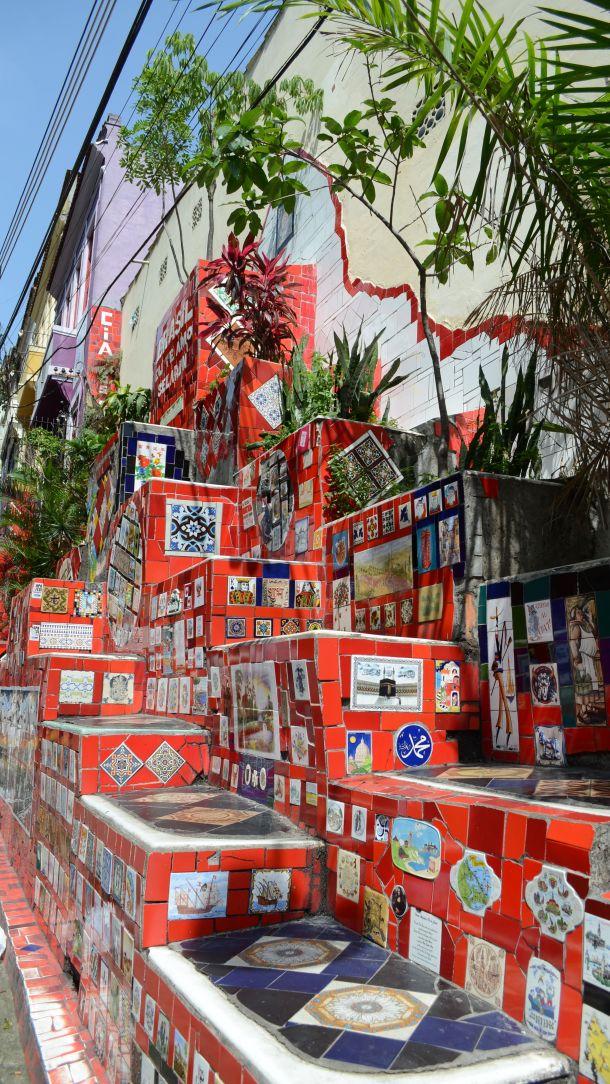 Call Me Katie - Escadaria Selarón in Lapa, Rio de Janeiro - 04