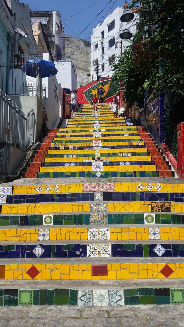 Call Me Katie - Escadaria Selarón in Lapa, Rio de Janeiro - 05