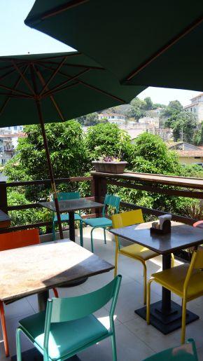 Lunch at Espirto Santa Restaurant in Santa Teresa, Rio deJaneiro