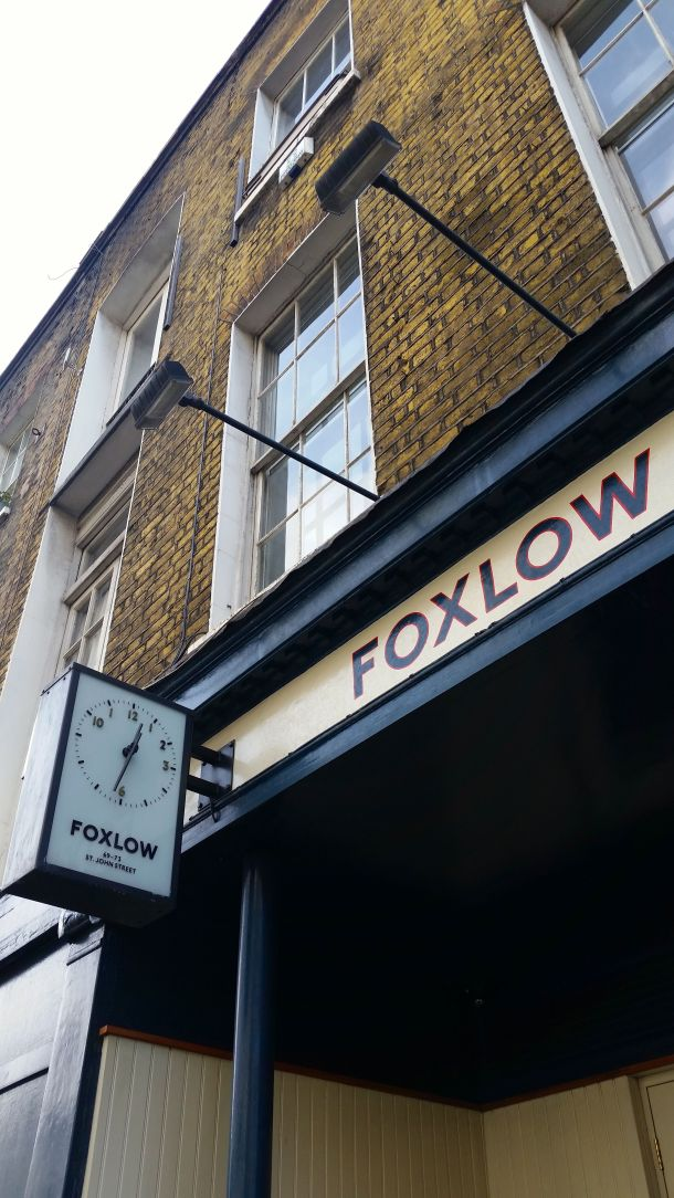 Call Me Katie - celebrating two years of marriage with a boozy brunch at Foxlow in Clerkenwell, London - 1