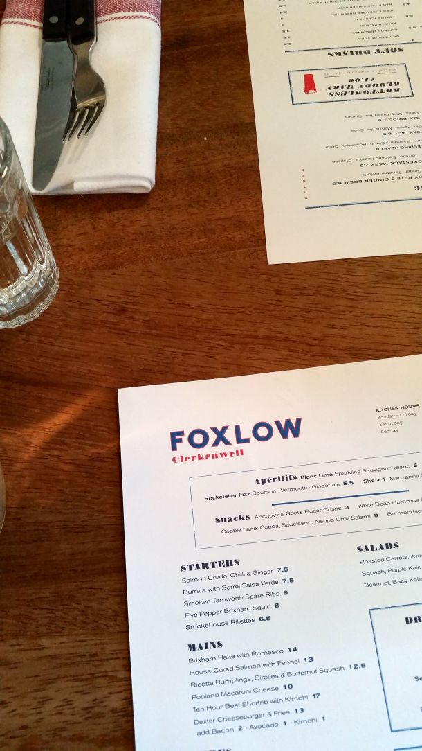 Call Me Katie - celebrating two years of marriage with a boozy brunch at Foxlow in Clerkenwell, London - 2